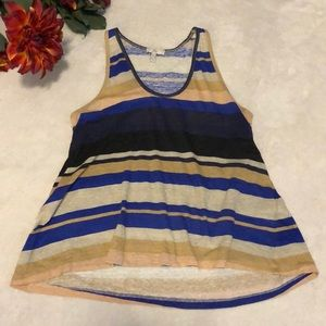 Joie striped tank top